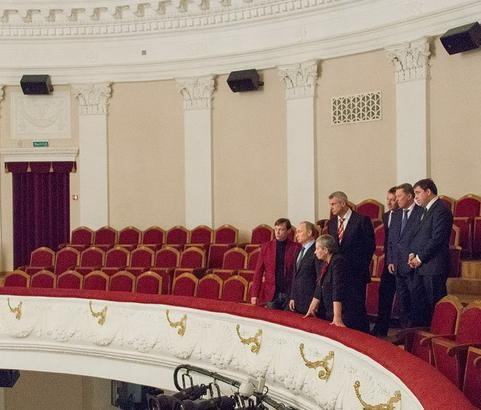 Путин Носов театр Нижний Тагил|Фото: администрация Нижнего Тагила