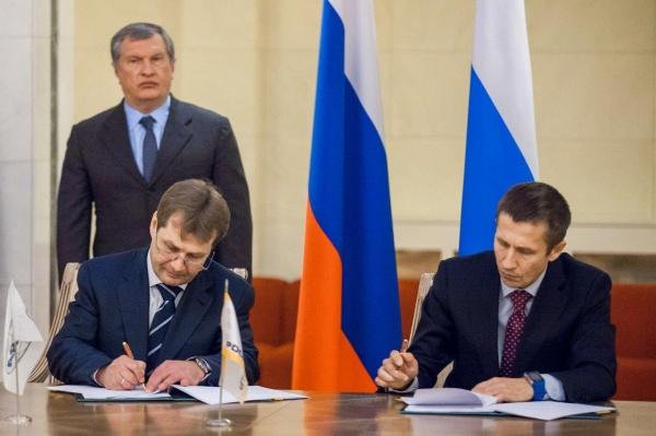 подписание соглашения, Александр Фролов, Александр Попов|Фото: Департамент информационной политики губернатора