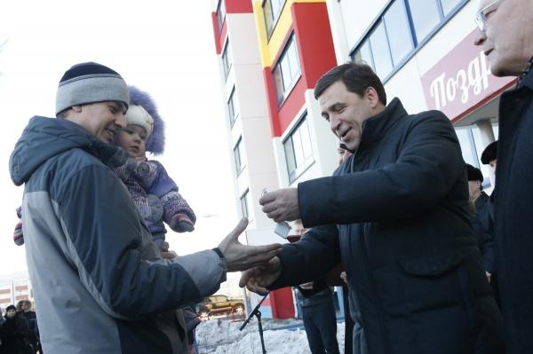 Евгений Куйвашев Каменск-Уральский визит|Фото: ДИП губернатора Свердловской области