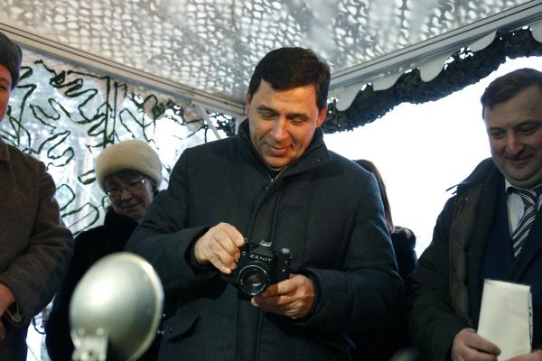 Евгений Куйвашев VI Уральский медиафорум|Фото: ДИП губернатора Свердловской области