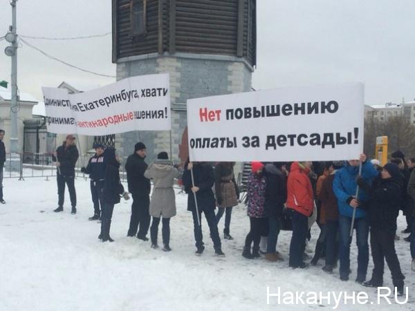 митинг против Умниковой|Фото:Накануне.RU