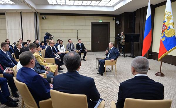 Владимир Путин, ОНФ|Фото: kremlin.ru