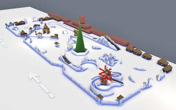 Ледовый городок, Челябинск|Фото: пресс-служба администрации Челябинска