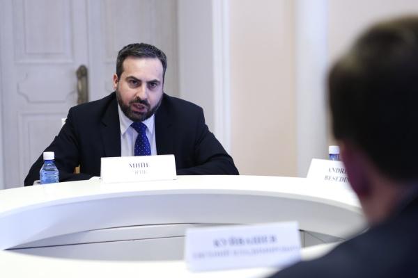 генеральный консул Франции в Екатеринбурге Эрик Мийе|Фото: ДИП губернатора Свердловской области