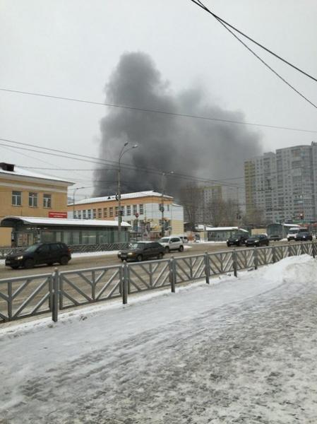 пожар, огонь, пожарные|Фото:https://vk.com/te_ekb