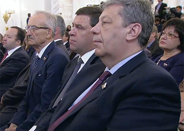 Послание Федеральному собранию, Куйвашев, Чернецкий|Фото: RT