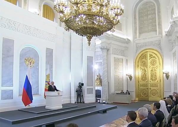 Послание Федеральному собранию, Владимир Путин|Фото: RT