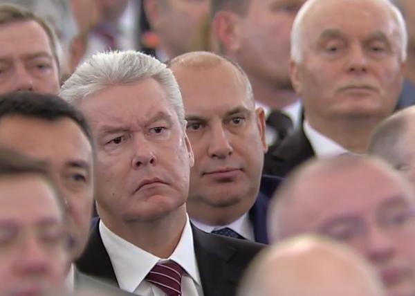 Послание Федеральному собранию, Собянин|Фото: RT