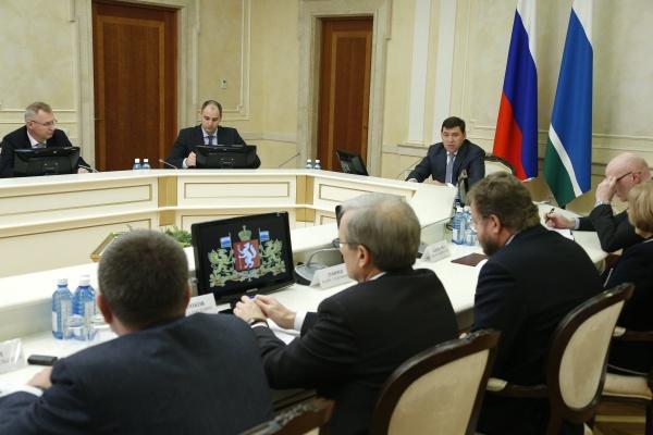 президиум правительства СО, Евгений Куйвашев|Фото: Департамент информационной политики губернатора