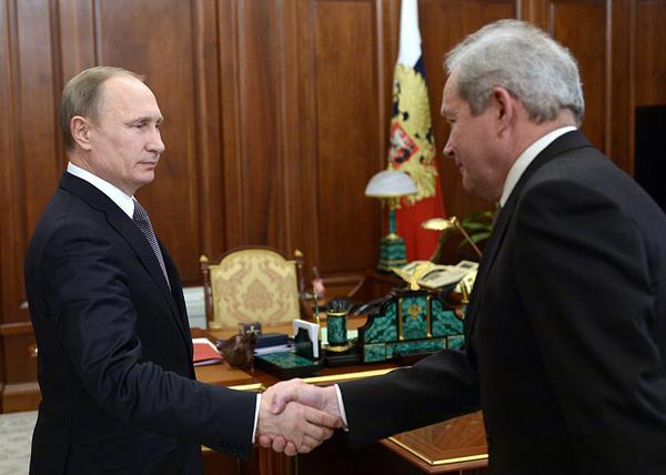 Путин, Басаргин|Фото: kremlin.ru