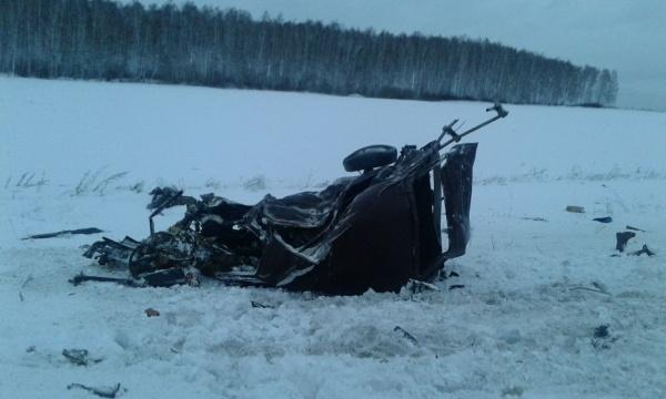 ДТП Богданович Нива грузовик|Фото: ГИБДД Свердловской области