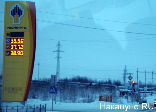 Салехард, заправка Роснефти, Роснефть, АЗС|Фото: