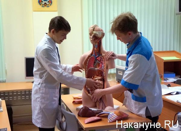 Ямальский многопрофильный колледж, студенты, медики, вуз, анатомия|Фото: