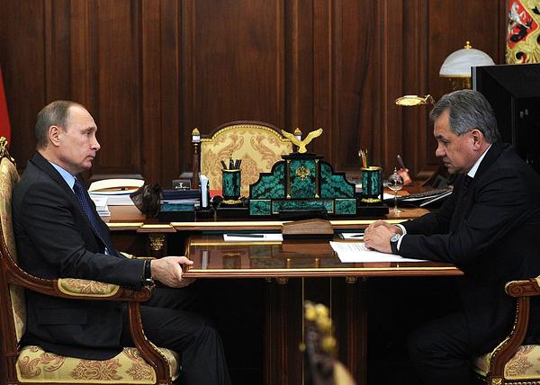 Путин, Шойгу|Фото: kremlin.ru