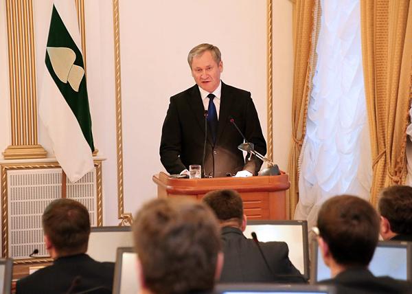 Алексей Кокорин, инвестиционное послание Фото: kurganobl.ru