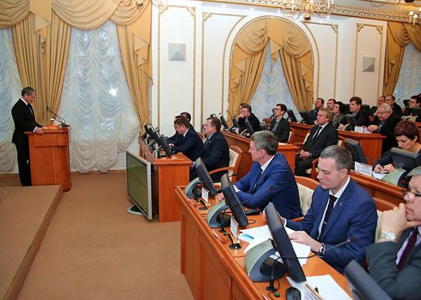 Алексей Кокорин, инвестиционное послание|Фото: kurganobl.ru