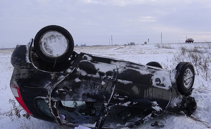"ДТП, ВАЗ-2107, ЛАДА КАЛИНА, автодорога ""Иртыш""|Фото: gibdd.ru"