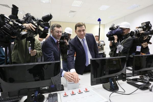 Нижнетуринская ГРЭС открытие Евгений Куйвашев|Фото: ДИП губернатора Свердловской области