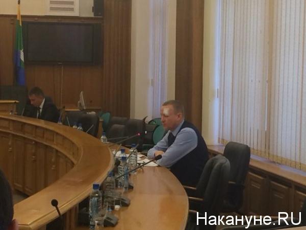Сергей Тушин заместитель главы администрации Екатеринбурга Фото: Накануне.RU