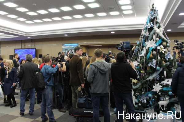 пресс-конференция Путина, журналисты, камера|Фото: Накануне.RU