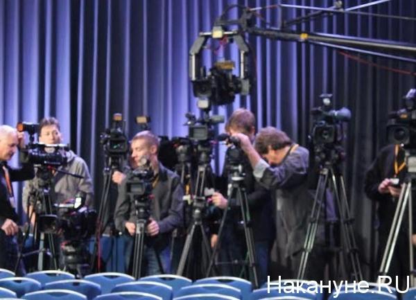 журналисты, камера, пресс-конференция Владимира Путина|Фото: Накануне.RU