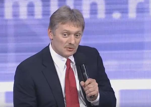 Ежегодная пресс-конференция Путина, Песков Фото: RT
