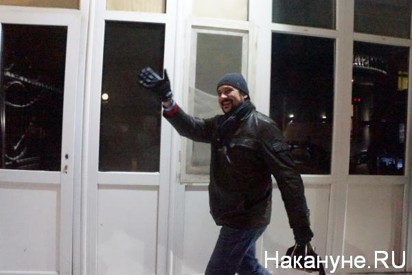 Алексей Ванченко, прием у консула США|Фото:Накануне.RU