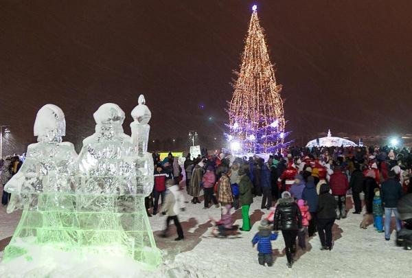 ледовый городок Нижний Тагил|Фото: администрация Нижнего Тагила