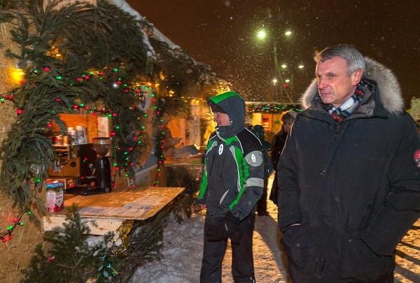 ледовый городок Нижний Тагил Сергей Носов|Фото: администрация Нижнего Тагила