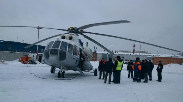 вертолет спасатели МЧС|Фото: ГУ МЧС РФ по Свердловской области