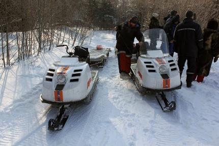 снегоходы спасатели МЧС|Фото: ГУ МЧС РФ по Свердловской области