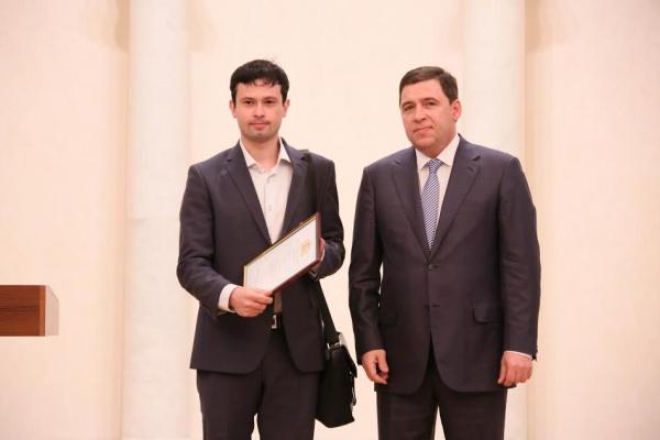 Сергей Хурбатов, Евгений Куйвашев|Фото: департамент информационной политики губернатора
