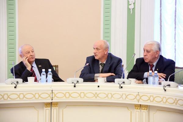 Эдуард Россель Алексей Воробьев Иван Овчарук|Фото: ДИП губернатора Свердловской области