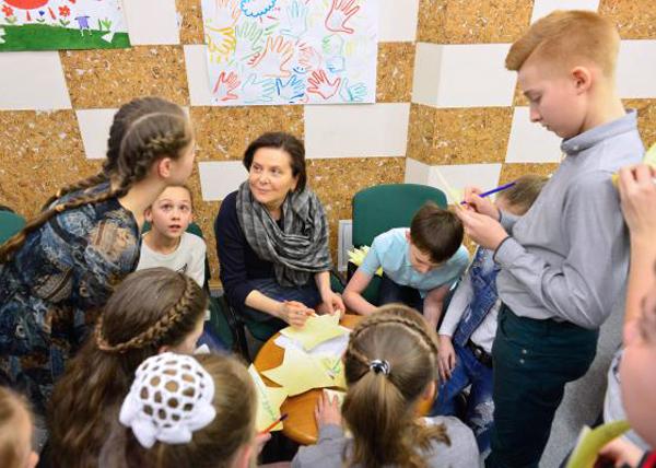 Наталья Комарова, дети|Фото: admhmao.ru