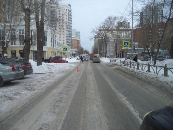 пешеходный переход ДТП Екатеринбург|Фото: ГИБДД Екатеринбурга