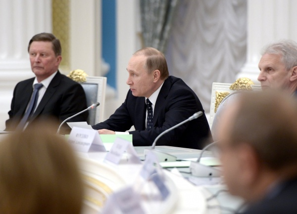 Иванов, Путин, Фурсенко(2016) Фото: kremlin.ru/