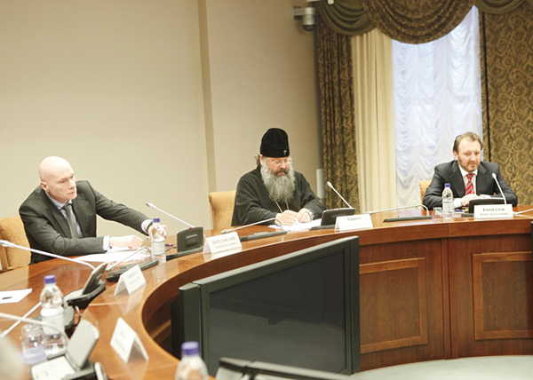 совещание по РПЦ, митрополит Кирилл и Борис Кириллов|Фото: uralfo.ru