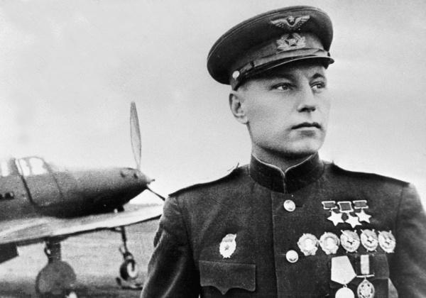 летчик Александр Покрышкин|Фото: