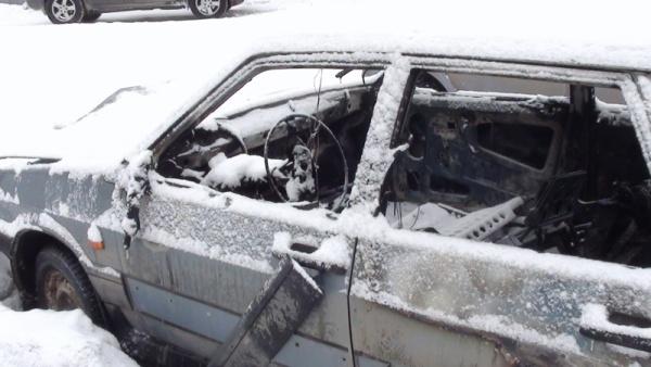 сгоревший автомобиль Нижний Тагил|Фото: ГУ МВД РФ по Свердловской области