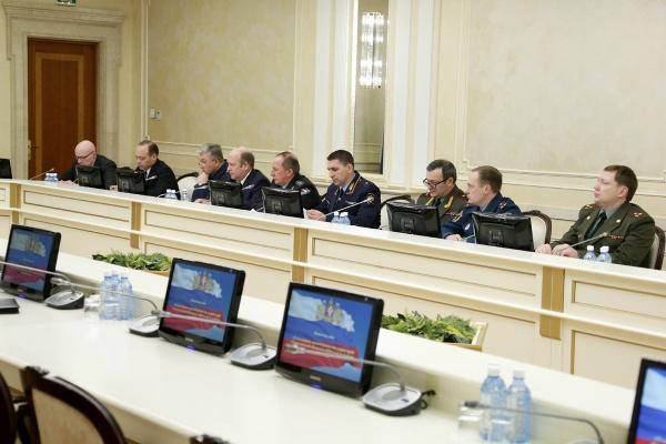 координационное совещание по правопорядку силовики|Фото: ДИП губернатора Свердловской области