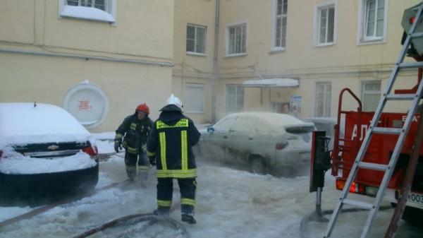 Нагорная Екатеринбург пожар|Фото: ГУ МЧС РФ по Свердловской области