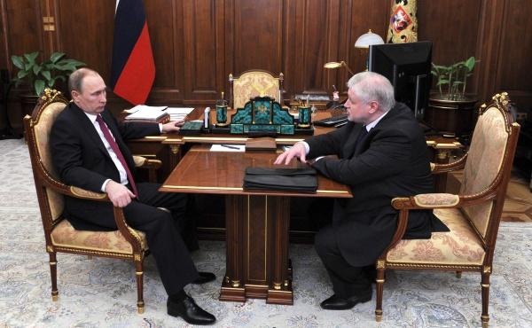 Владимир Путин, Сергей Миронов|Фото:kremlin.ru