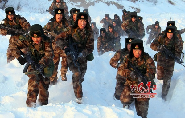 Китайская армия Фото: joinfo.ua