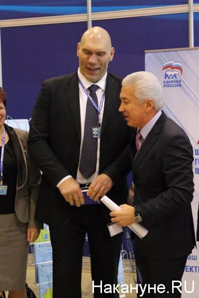 Николай Валуев, Владимир Васильев|Фото: Накануне.RU