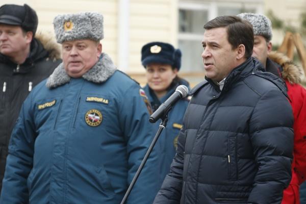 Куйвашев открытие здания Центра обработки вызовов Системы-112|Фото: ДИП губернатора Свердловской области