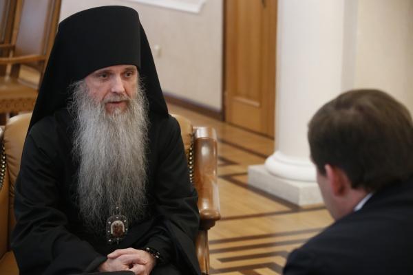 епископ Каменский и Алапаевский Мефодий|Фото: ДИП губернатора Свердловской области