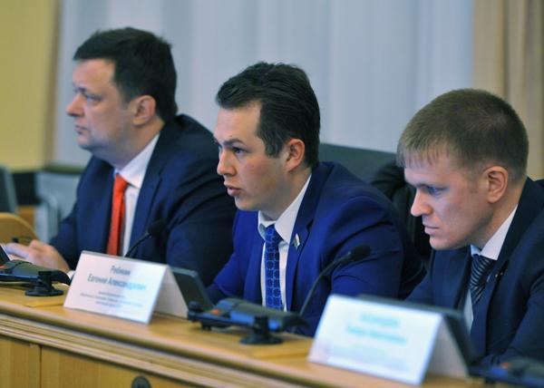 Глеб Трубин Евгений Ребякин ЛДПР|Фото: gubernator.admtyumen.ru