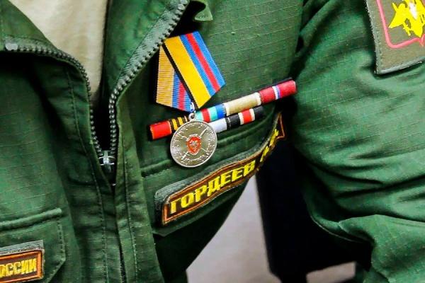 Артем Гордеев, форма, медаль, орден|Фото: Минобороны России
