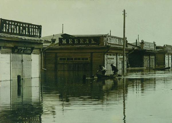 паводок 1914 г. Курган|Фото: Государственный архив Курганской области
