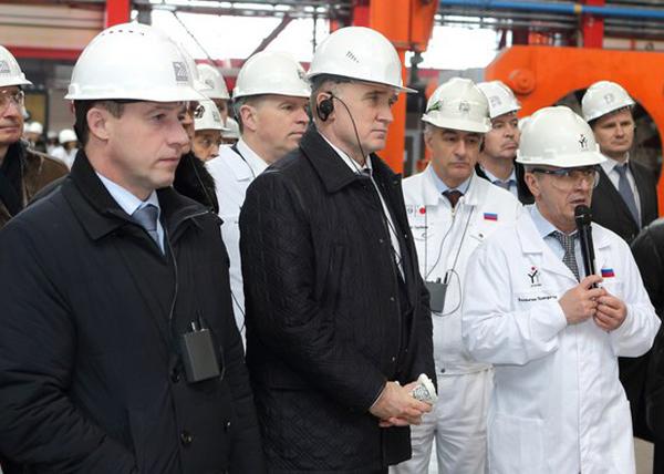 Борис Дубровский, ЧТПЗ|Фото: пресс-служба губернатора Челябинской области